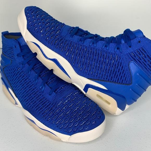 1e5f1f306420b $170 Size 10 Nike Jordan Flyknit Elevation 23 Blue NWT